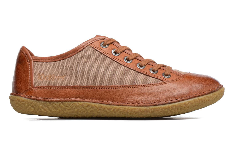 Snörade skor Kickers Hollyday Brun bild från baksidan