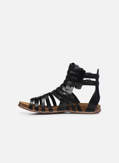 Sandalen Kickers Anaspart schwarz ansicht von vorne