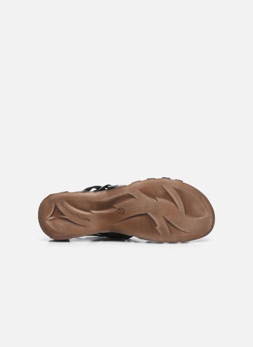 Sandalen Kickers Anaspart schwarz ansicht von oben