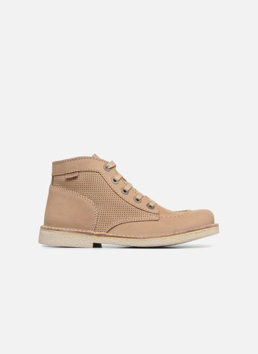 Chaussures à lacets Kickers Legendiknew Beige vue derrière