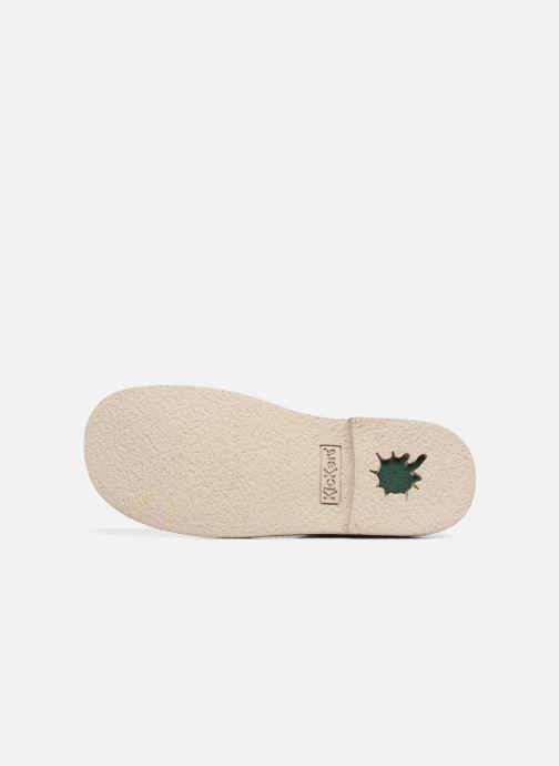 Chaussures à lacets Kickers Legendiknew Beige vue haut
