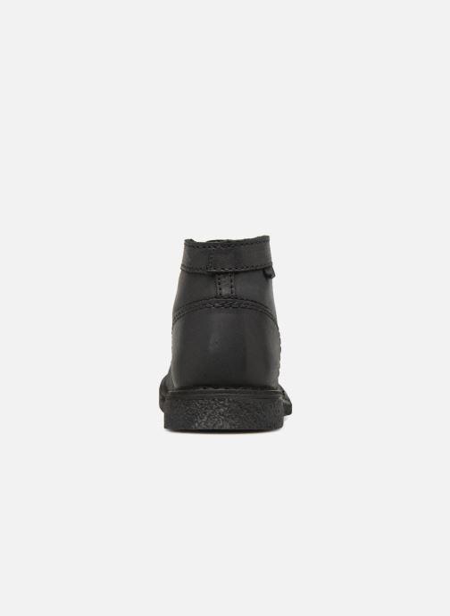Chaussures à lacets Kickers Legendiknew Noir vue droite