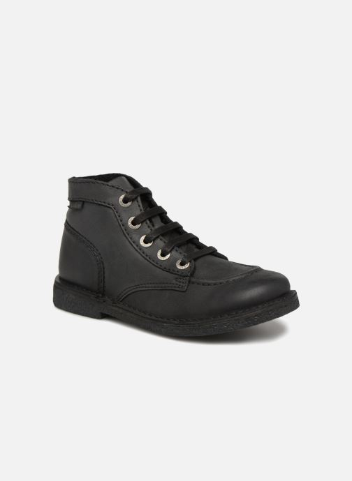 Chaussures à lacets Kickers Legendiknew Noir vue détail/paire