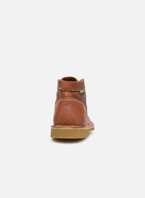 Chaussures à lacets Kickers Legendiknew Marron vue droite