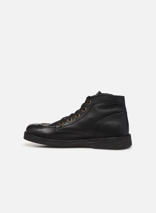 Chaussures à lacets Kickers Legendiknew Noir vue face