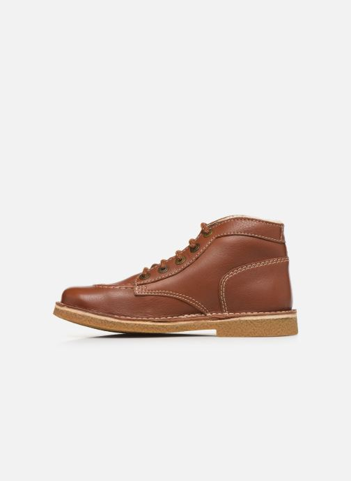 Chaussures à lacets Kickers Legendiknew Marron vue face