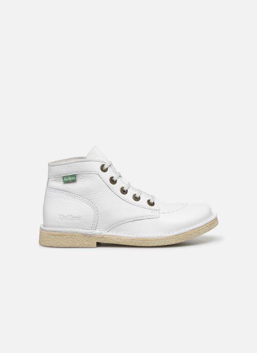 Zapatos con cordones Kickers Legendiknew Blanco vistra trasera