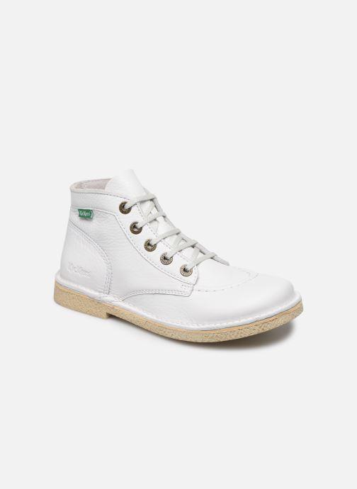 Kickers Legendiknew (blanco) - Zapatos Con Cordones Chez