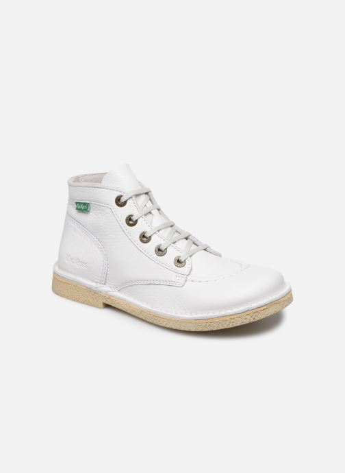 Zapatos con cordones Kickers Legendiknew Blanco vista de detalle / par