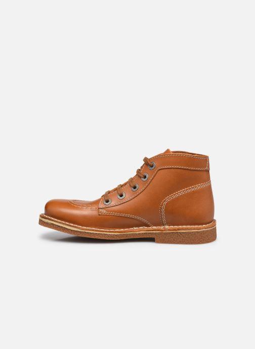 Zapatos con cordones Kickers Legendiknew Marrón vista de frente