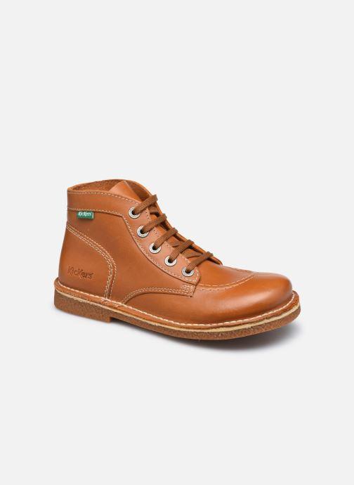 Zapatos con cordones Kickers Legendiknew Marrón vista de detalle / par