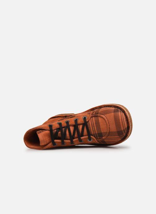 Scarpe con lacci Kickers Legendiknew Arancione immagine sinistra