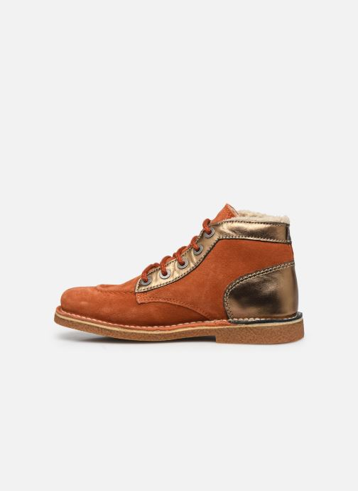 Chaussures à lacets Kickers Legendiknew Orange vue face