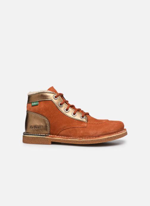 Scarpe con lacci Kickers Legendiknew Arancione immagine posteriore