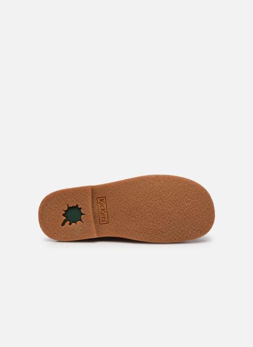 Chaussures à lacets Kickers Legendiknew Orange vue haut
