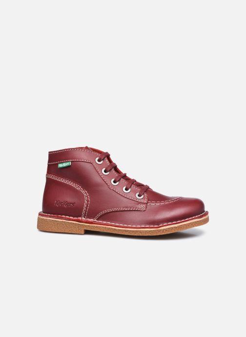 Chaussures à lacets Kickers Legendiknew Rouge vue derrière