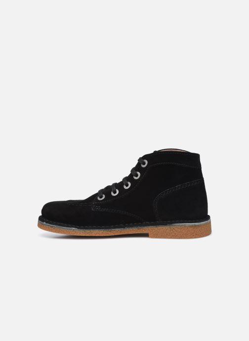 Zapatos con cordones Kickers Legendiknew Negro vista de frente