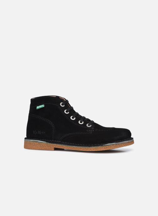 Zapatos con cordones Kickers Legendiknew Negro vistra trasera