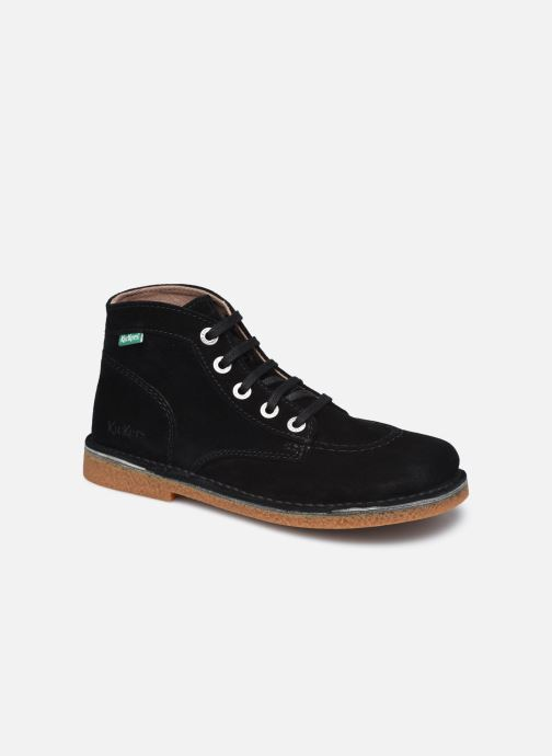 Zapatos con cordones Kickers Legendiknew Negro vista de detalle / par