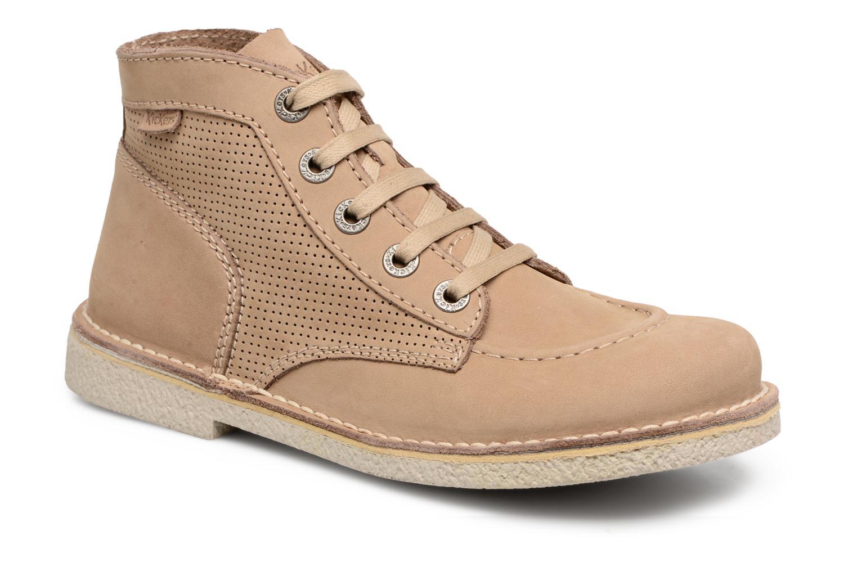 Moda barata y hermosa -  Kickers Legendiknew (Beige) - hermosa Zapatos con cordones en Más cómodo 6be42f