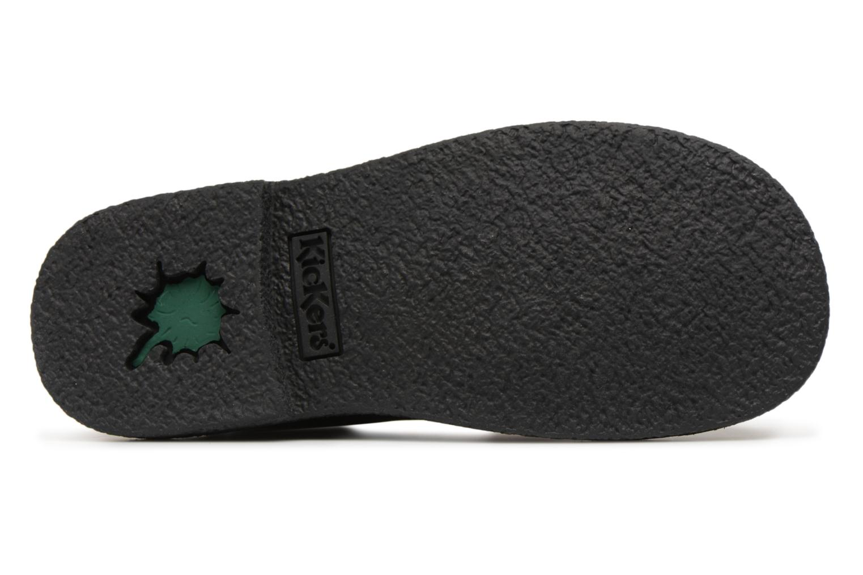 Chaussures à lacets Kickers Legendiknew Noir vue haut