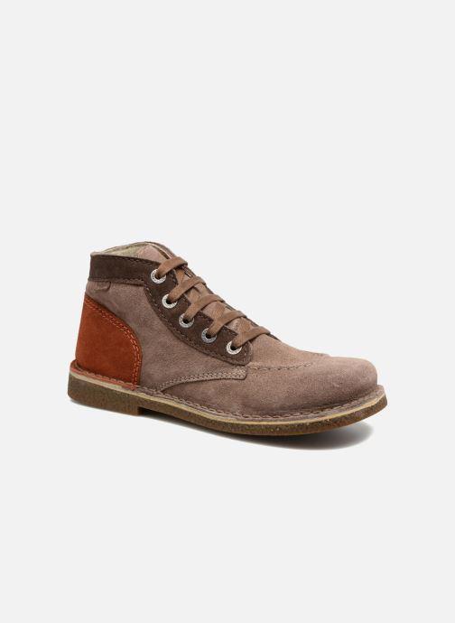 Chaussures à lacets Kickers Legendoknew Marron vue détail/paire