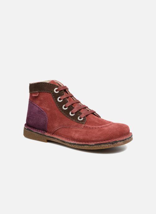 046cdfdaf7d2ab Kickers Legendoknew (Bordeaux) - Chaussures à lacets chez Sarenza ...