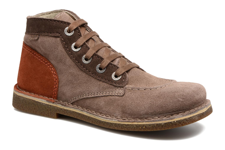 Descuento de la marca  Kickers Legendoknew (Marrón) - Zapatos cómodo con cordones en Más cómodo Zapatos 4fb43c