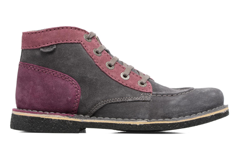 Zapatos con cordones Kickers Legendoknew Gris vistra trasera