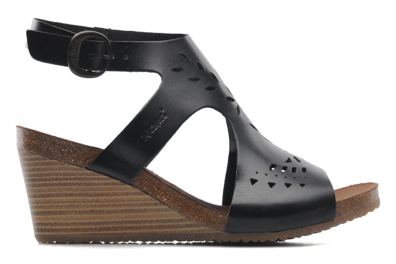 Sandales et nu-pieds Kickers Sperfo Noir vue derrière