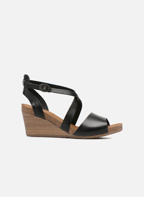 Sandales et nu-pieds Kickers Spagnol Noir vue derrière