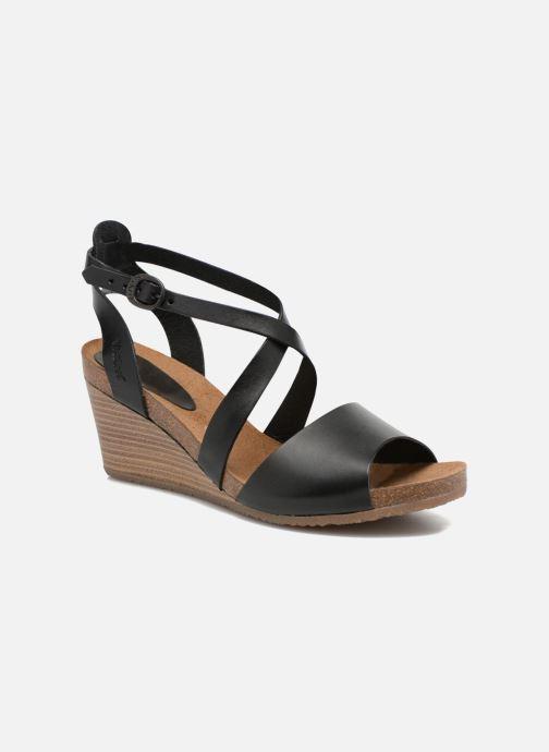Sandalen Kickers Spagnol schwarz detaillierte ansicht/modell
