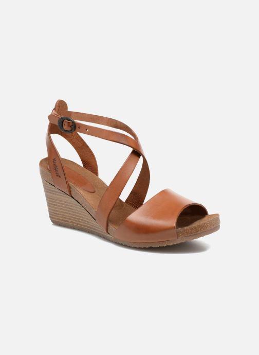 Sandales et nu-pieds Kickers Spagnol Marron vue détail/paire