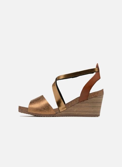 Kickers Spagnol (Bronze och Guld) - Sandaler
