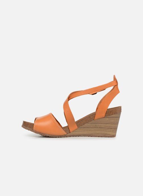 Sandali e scarpe aperte Kickers Spagnol Arancione immagine frontale