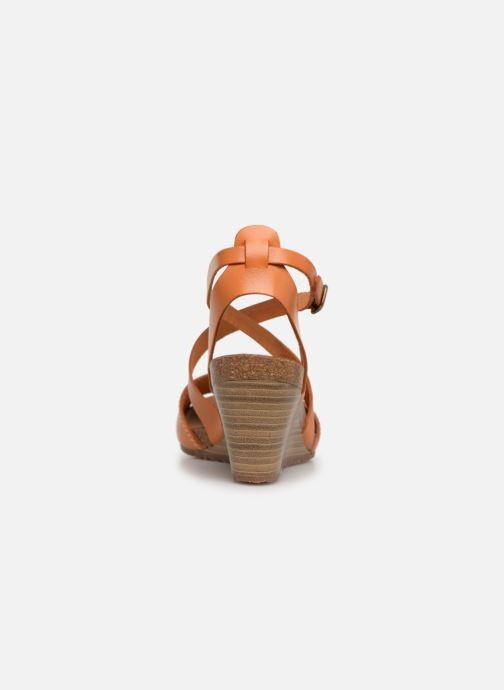 Sandales et nu-pieds Kickers Spagnol Orange vue droite
