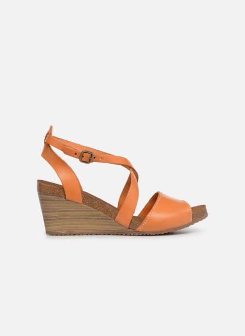 Sandales et nu-pieds Kickers Spagnol Orange vue derrière