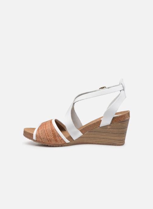 Sandales et nu-pieds Kickers Spagnol Blanc vue face
