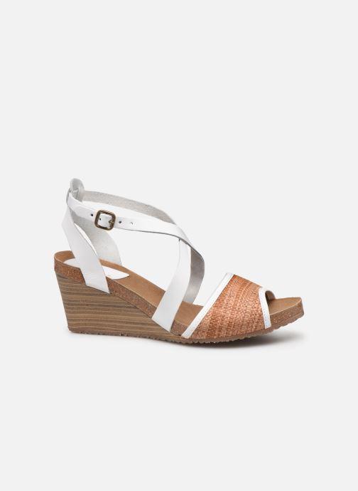 Sandales et nu-pieds Kickers Spagnol Blanc vue derrière