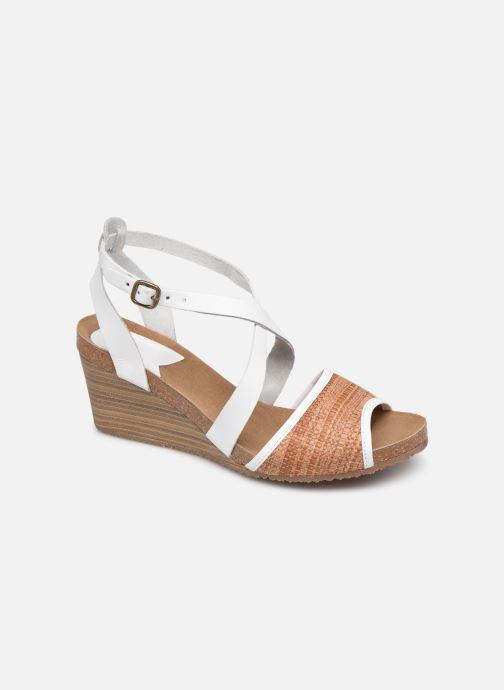 Sandales et nu-pieds Kickers Spagnol Blanc vue détail/paire