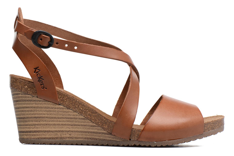 Sandales et nu-pieds Kickers Spagnol Marron vue derrière