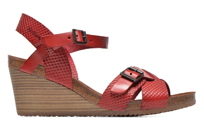Sandales et nu-pieds Kickers Spanish Rouge vue derrière