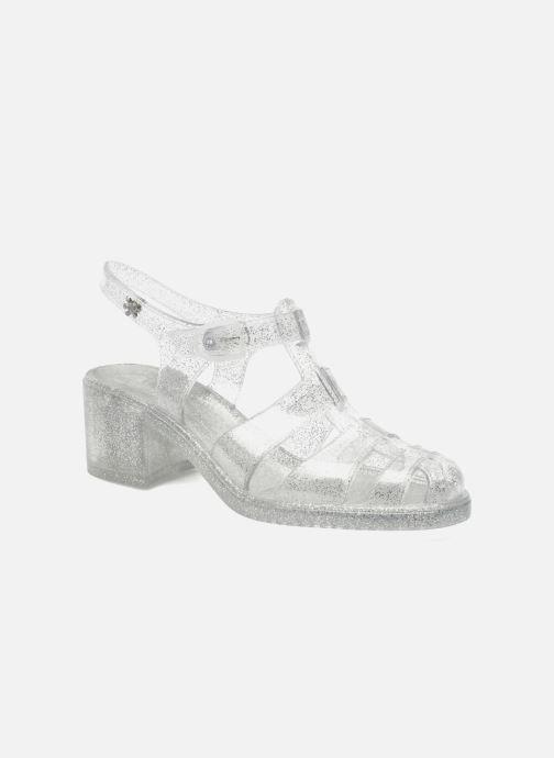 Sandales et nu-pieds Méduse Nikita Argent vue détail/paire