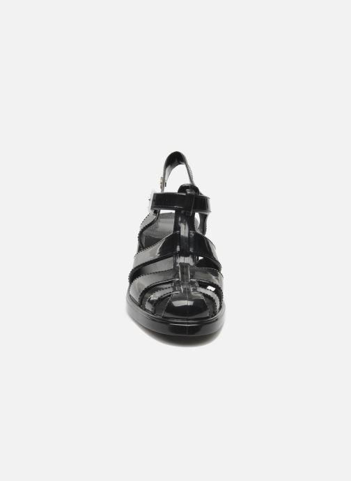 Sandales et nu-pieds Méduse Nikita Noir vue portées chaussures