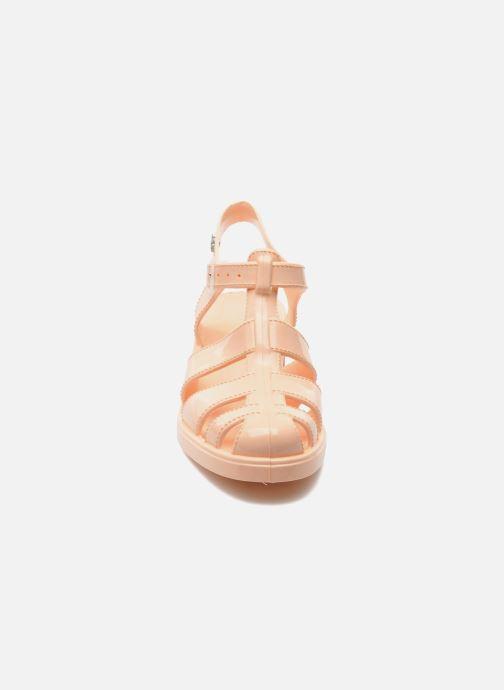 Sandales et nu-pieds Méduse Nikita Orange vue portées chaussures