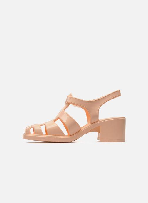 Sandales et nu-pieds Méduse Nikita Orange vue face
