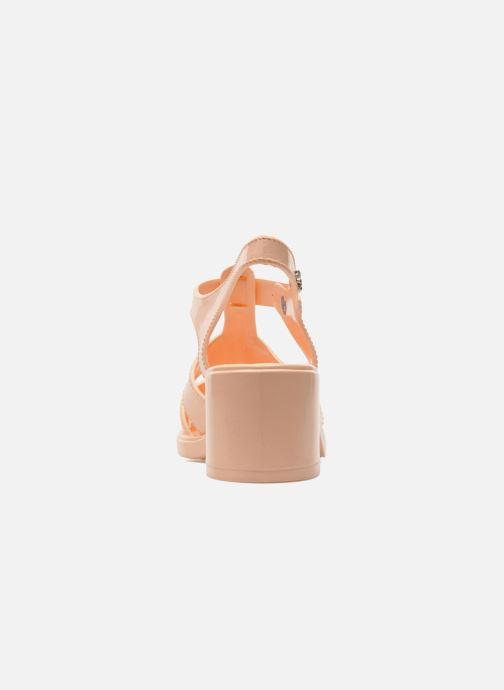 Sandales et nu-pieds Méduse Nikita Orange vue droite