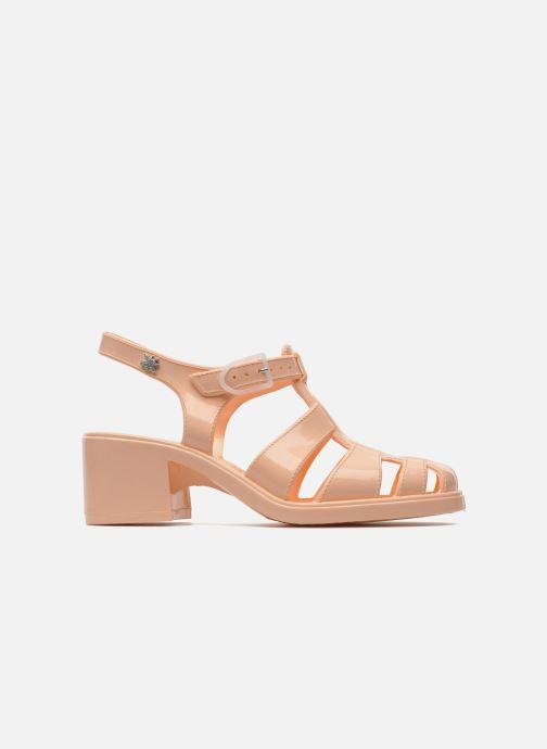 Sandales et nu-pieds Méduse Nikita Orange vue derrière
