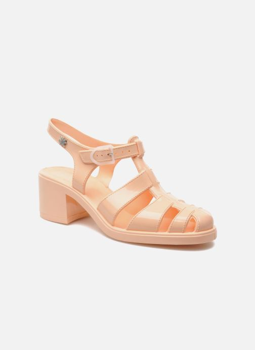 Sandales et nu-pieds Méduse Nikita Orange vue détail/paire