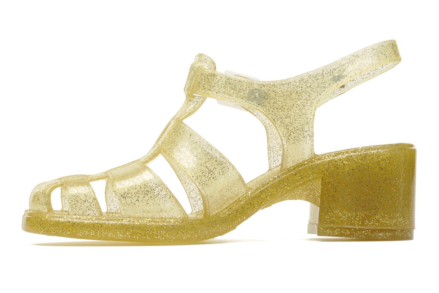 Sandals Méduse Nikita Bronze and Gold front view